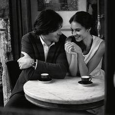 Flirting and drinking espresso? Must do.