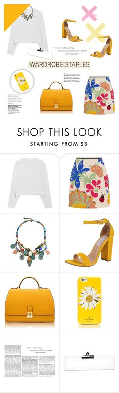 """""""Everything is blue His pills,His Hands ♥"""" by tvdsarahmichele ❤ liked on Polyvore featuring Acne Studios, Victoria, Victoria Beckham, Steve Madden, Florian London, Kate Spade and BCBGMAXAZRIA"""