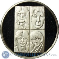The Beatles The White Album  http://www.gainesvillecoins.com/submenu/641/silver-art-bars-and-rounds.aspx