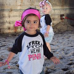 Love this! Gender neutral, Free To Wear Pink t-shirt by Quirkie Kids. $25.00 Get yours at http://www.quirkiekids.com/#!product/prd14/2995744511/free-to-wear-pink
