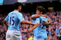 David Silva and Jesus Navas's back :))