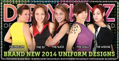 DerbySkinz - Roller Derby Uniforms, Shorts, Skirts, Skorts, Helmet Panties, Leggings, Armbands, Capris