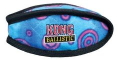 KONG Ballistic Football Dog Toy - Large