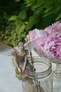 Romancing the Home: Fairies are in the Garden!