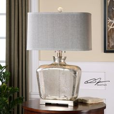 "Found it at Wayfair - Molinara 28"" H Table Lamp with Rectangular Shade"