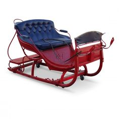 ... Prop Hire » Christmas » Victorian Christmas Sleigh - Keeley Hire