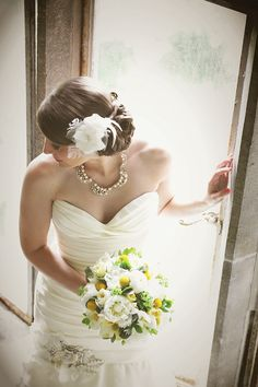 Lawless Flowers based in Limerick is the West of Ireland's leading florist and their heritage sp. Adare Manor, Wedding Bouquets, Wedding Dresses, Flower Centerpieces, Yellow Flowers, West Coast, Real Weddings, Ireland, Brides
