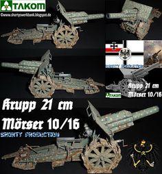 Shorty-Production: TAKOM-Krupp 21 cm Mörser
