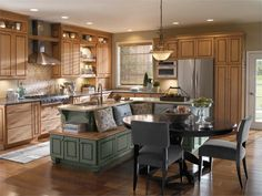 Diamond Dining Table, Chair and Refrigerator, Lighting with Decorative Kitchen Sets For Traditional Kitchen