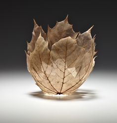 Maple Leaf Bowl by Kay Sekimachi at J Sauer Gallery
