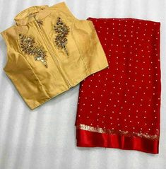 Pearl work saree with designer readymade blouse at Rs 1650 click here to buy https://www.moifash.com/shreejidesignhouse/product?id=5aca53095572033507cc6847 - Chaitali Radadia - Google+
