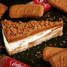 Lotus Biscoff Cheesecake.