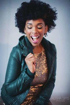 #NaturalHair Personality shots Alisha Sims Photography