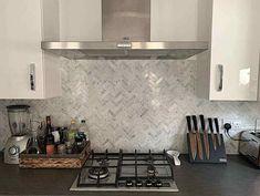 Marble Mosaic, Mosaic Tiles, Wall Tiles, Kitchen Splashback Tiles, Carrara, Tile Floor, Room Decor, Flooring, Bathroom Wall