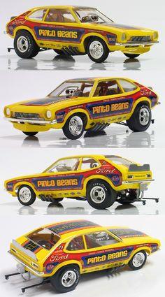 Pinto race car