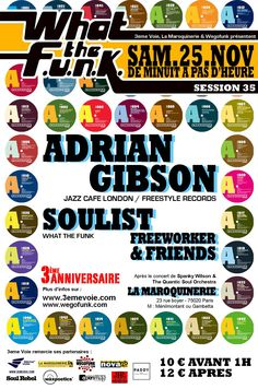 wtf#36 (wtf 3 ans) : Adrian Gibson - 25/11/2006 (by Dré)