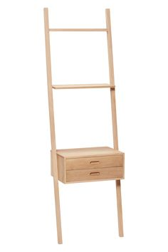 Oak display ladder with drawers. Item number: 880413 - Designed by Hübsch