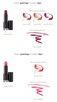 Lipstick/ liner guide