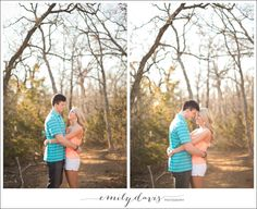 Bob Jones Nature Center Portrait Session - Southlake Engagament Session - www.emilydavisphoto.com