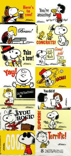 Peanuts Gang Rewards Stickers - Over 110 Stickers In Every Pack!