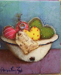 Valencia van Zyl South African Art, Valencia, Still Life, Cool Art, Decoupage, Fine Art, Cupboards, Christmas Ornaments, Holiday Decor