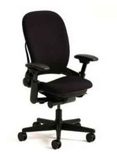 Steelcase Leap V1 High Back Office Chair  Black Fabric By Steelcase, Http:/