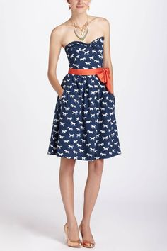 Repartee Sweetheart Dress - anthropologie.com