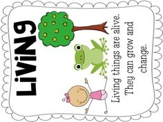 Teacher living and nonliving lesson plan | NONLIVING AND LIVING THINGS: A SCIENCE LESSON - TeachersPayTeachers ...
