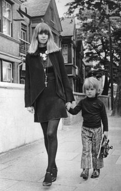 "Linda LawrenceBrian Jones, with whom she had a son, Julian; Donovan, with whom she had two daughters Vibe: ""My muse, my sunshine supergirl,"" is how Scottish folksinger Donovan describes the lanky, long-haired Lawrence, a country girl turned ""beatnik model""  Her first loveBrian Jones, who she met when she was fifteen and with whom she had a son, Julian. (It's even been suggested that she created Jones's signature haircut.) Inspired: Donovan's songs ""Legend of a Girl Child Linda"" and ""The…"