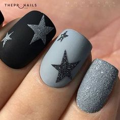 Don't you want to be a star? so we can shine together #stars #manicure #inspiration #hello #November
