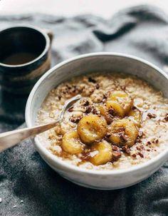 Oatmeal : 7 idées aux flocons davoine pour un petit-déjeuner qui change