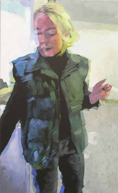 Katinka, acrylic on canvas, 150 x 90 cm,2005