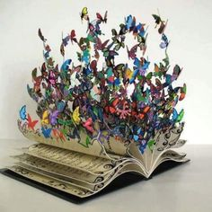 Awesome Book Art.