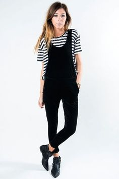 Regall Overall in Black  available at #Loehmanns