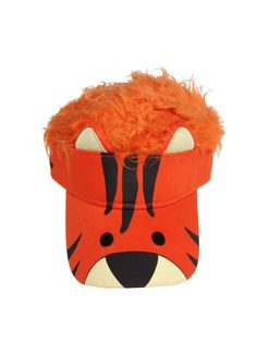 e2685cdac35a8 Celebrate your child s love of animals with our Flair Hair Kids Tiger Visor  available at www.FlairHair.com! Repin to your own idea and inspiration  board!