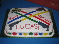For wills laser quest birthday....
