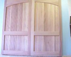 Clingerman Doors - Custom Wood Garage Doors - Clearville, PA Wood Garage Doors, Carriage Doors, Custom Wood, Curtains, Eye, Home Decor, Wooden Garage Doors, Blinds, Decoration Home