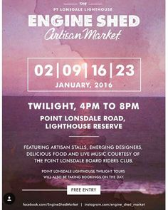 Tonight and every Saturday night in January...check it out! @engine_shed_market  #big4beaconresort by big4beaconresort http://ift.tt/1JO3Y6G