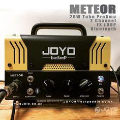JOYO Meteor Bantamp Guitar Amplifier 20w Pre Amp Tube by www.joyoeffectpedals.co.uk