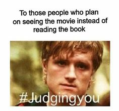 What is wrong with u people haven't u ever heard the book is better than the movie.  U should be ashamed