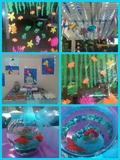 My daughter's Little Mermaid birthday party!