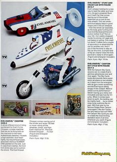 Evel Knievel Toys, I had a few.