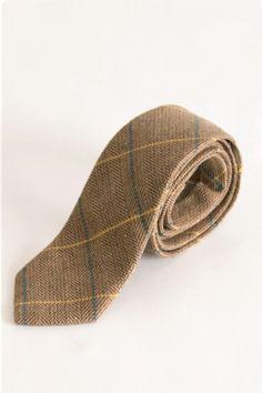 DX7 Oak Check Tweed Tie Formal Tie, Luxury Ties, Peaky Blinders, Everyday Outfits, Herringbone, Tweed, Retro Vintage, Branding Design, Gold Rings