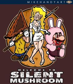 Bienvenidos al Silent Hill de Nintendo: Silent Mushroom.
