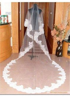 Beautiful Gauze White Veil Matching Your Elegant Wedding Dress