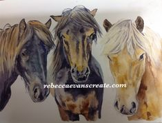20#worldwatercolor month 'a stable relationship'