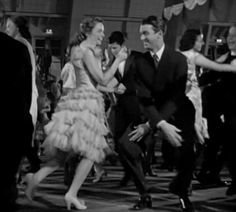 Donna Reed and Jimmy Stewart dance the Charleston before falling into the swimming pool Old Movies, Vintage Movies, Vintage Hollywood, Classic Hollywood, Wonderful Life Movie, It's Wonderful, Christmas Comics, Christmas Time, Vintage Christmas