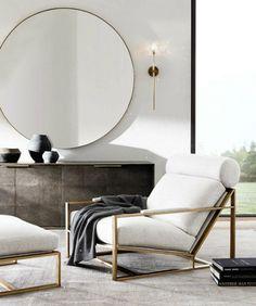 6 Stunning Designer Chairs For Living Rooms | living room chairs, designer chairs, modern chairs #chairdesign #interiordesign #design Read more: http://modernchairs.eu/stunning-designer-chairs-living-rooms/