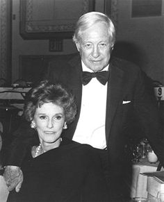 William S. Paley, broadcast legend was born today 9-28 in 1901. He built Columbia Broadcasting (CBS) from a small radio station to being a foremost radio and TV network. He and his wife Babe (shown here) were high in the 'pecking order' in NY Society for eons and were known as great philanthropists. He passed in 1990.