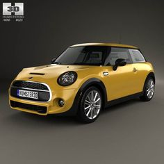 Mini Cooper S 2014 3d model from humster3d.com. Price: $75